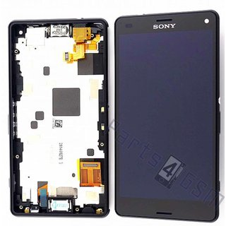 Sony Xperia Z3 Compact LCD Display Module, Black, 1289-2667