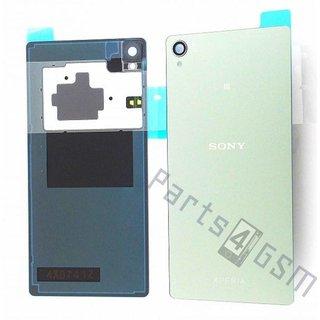 Sony Xperia Z3 Accudeksel, ZilverGroen, 1288-7880
