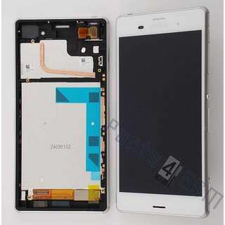 Sony Xperia Z3 Lcd Display Module, Wit, 1290-6075