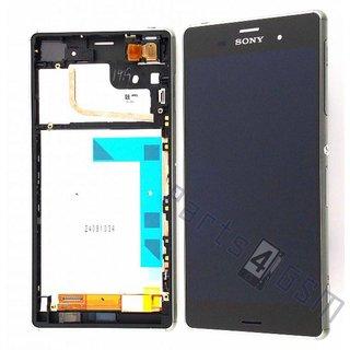 Sony Xperia Z3 Lcd Display Module, ZilverGroen, 1290-6077