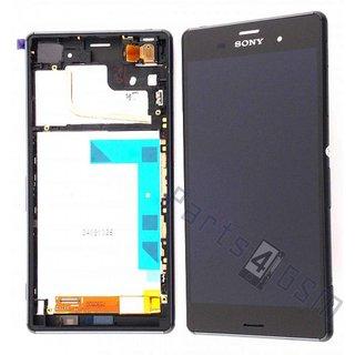 Sony Xperia Z3 Lcd Display Module, Zwart, 1290-6073
