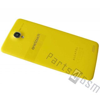 Alcatel OT-6040 One Touch Idol X Battery Cover, Yellow, BCC332D11C0