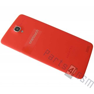 Alcatel OT-6040 One Touch Idol X Accudeksel, Rood, BCC3320E11C0
