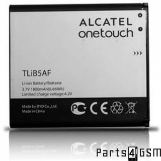 Alcatel TLiB5AF Accu OT 997D, OT 5035, OT 5035D One Touch X'Pop, 1800mAh