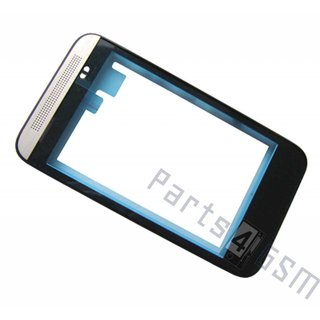 HTC Desire 200  Front Cover Frame, Silver, 74H02479-00M