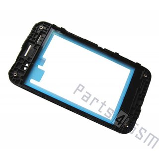HTC Desire 200 Front Cover Frame, Zilver, 74H02479-00M