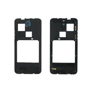HTC Desire 300 Middle Cover, Black, 74H02605-00M