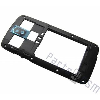 HTC Desire 500 Middle Cover, Black, 74H02548-00M