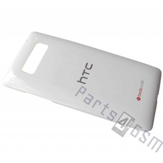 HTC Desire 600 Accudeksel, Wit, 74H02477-01M