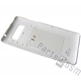 HTC Desire 600 Battery Cover, White, 74H02477-01M