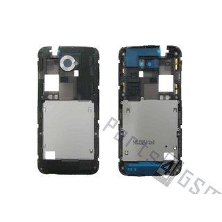 HTC Desire 601 Middenbehuizing, Wit, 74H02576-07M