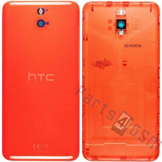 HTC Desire 610 Battery Cover, Orange, 74H02677-03M
