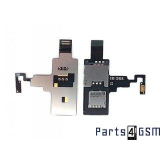 HTC Desire X SIM Card + MicroSD Memory Card Reader Flex 51H20495-00M