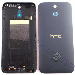 HTC One (E8) Achterbehuizing, DonkerGrijs, 74H02692-33M