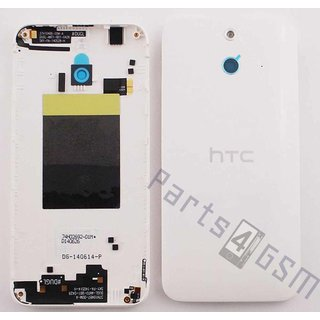 HTC One (E8) Back Cover, White, 74H02692-32M