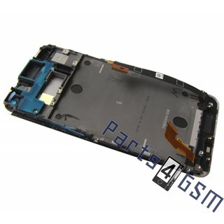 HTC One Dual Sim (M7 802w) LCD Display Module, White, 80H01508-01