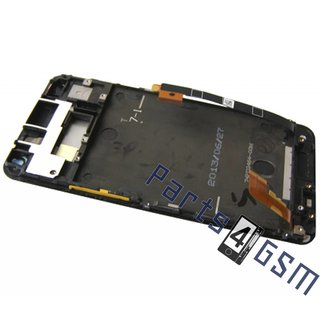 HTC One Dual Sim (M7 802w) LCD Display Module, Black, 80H01508-00