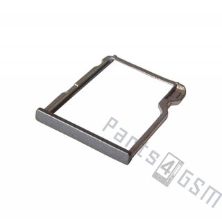 HTC One (M8) Memory Card Tray Holder, Grey, 72H08105-01M