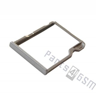 HTC One (M8) Memory Card Tray Holder, Silver, 72H08105-00M