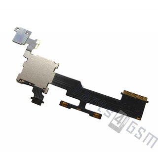 HTC One (M8) MicroSD kaartlezer connector, 51H20590-00M