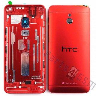 HTC One Mini (M4) Achterbehuizing, Rood, 83H40003-11