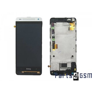 HTC One Mini (M4) LCD Display Module, Silver, 80H01596-00, 80H01646-06