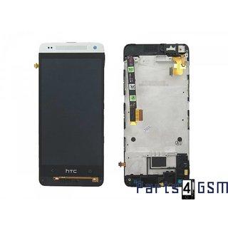 HTC One Mini (M4) Lcd Display Module, Zilver, 80H01596-00, 80H01646-06