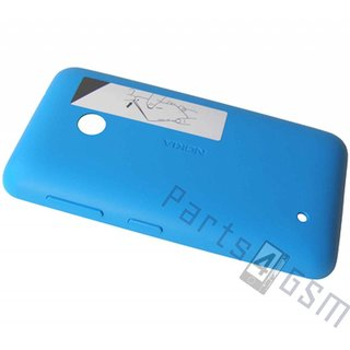 Nokia Lumia 530 Battery Cover, Blue, 02507L5