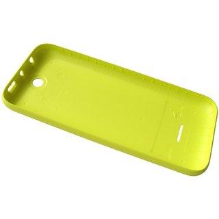 Nokia Lumia 530 Accudeksel, Geel, 02507L3