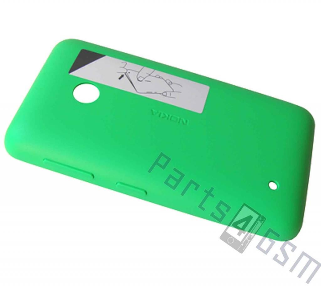 Nokia Lumia 530 Battery Cover, Green, 02507L4