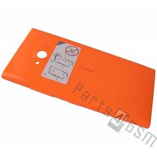 Nokia Lumia 735 Achterbehuizing, Oranje, 02508B0