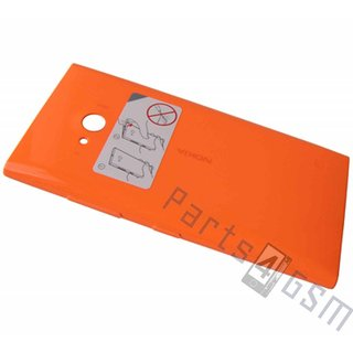 Nokia Lumia 735 Back Cover, Orange, 02508B0