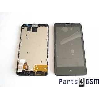 Nokia X Dual SIM LCD Display Module, Black, 8003224