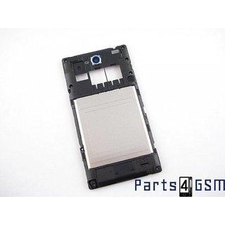 Sony Xperia C C2305 Middenbehuizing, Zwart, A/402-58600-0001