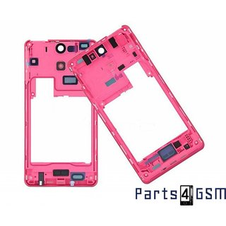 Sony Xperia V LT25i Middle Cover, Pink, 1268-4324