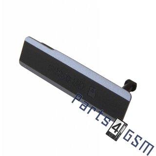Sony Xperia Z1 (L39H C6903) Memory Card Cover, Black, 1272-0134