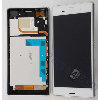 Sony Xperia Z3 Dual Lcd Display Module, Wit, 1288-5870