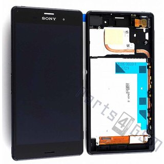 Sony Xperia Z3 Dual LCD Display Module, Black, 1288-5869