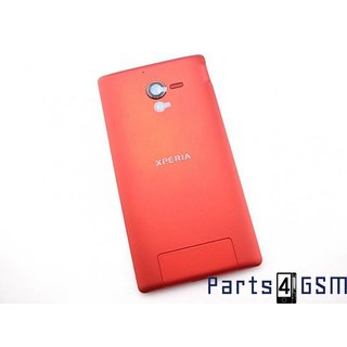 Sony Xperia ZL Battery Cover, Red, 1270-2408