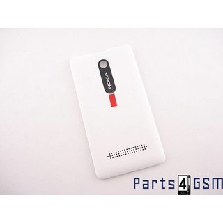 Nokia Asha 210 Battery Cover, White, 02503F6