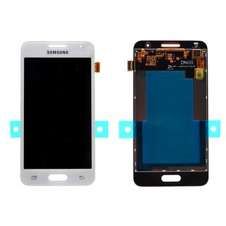 Samsung G355H Galaxy Core 2 Dual SIM LCD Display Module, White, GH97-16070A