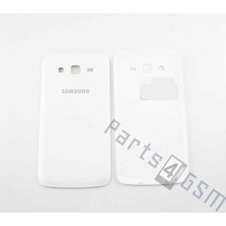 Samsung G7102 Galaxy Grand 2 Duos Battery Cover, White, GH98-30233A