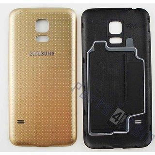 Samsung G800F Galaxy S5 Mini Accudeksel, Goud, GH98-31984D