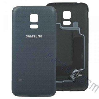 Samsung G800F Galaxy S5 Mini Accudeksel, Zwart, GH98-31984A