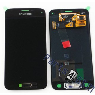 Samsung G800F Galaxy S5 Mini LCD Display Module, Gold, GH97-16147D