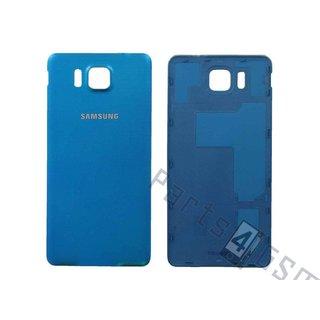 Samsung G850F Galaxy Alpha Accudeksel, Blauw, GH98-33688C