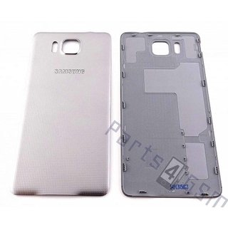 Samsung G850F Galaxy Alpha Battery Cover, Silver, GH98-33688E