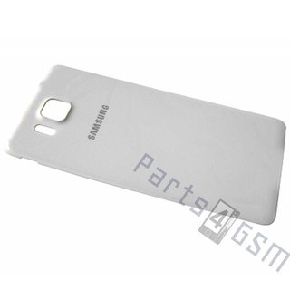 Samsung G850F Galaxy Alpha Battery Cover, White, GH98-33688D