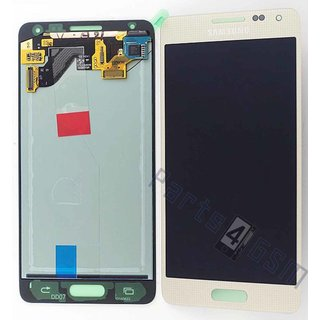 Samsung G850F Galaxy Alpha LCD Display Module, Gold, GH97-16386B