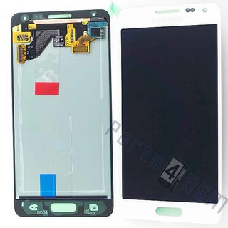 Samsung G850F Galaxy Alpha Lcd Display Module, Wit, GH97-16386D